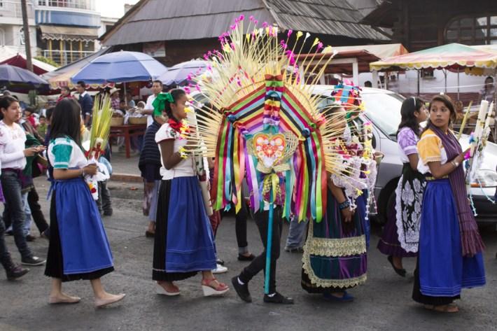 Fiesta de las palmas. Fotografías: Regina López