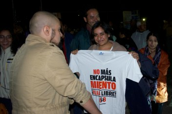 Playera del documental sobre Ilia