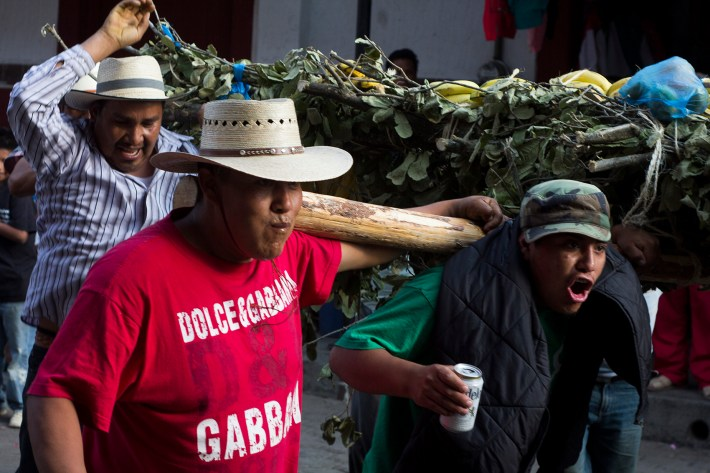 Resistencia festiva. Fotografías: Nicolás Tapia