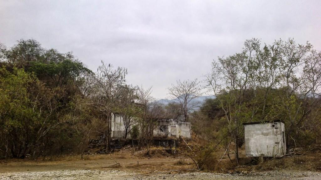 Casa abandonada rumbo a Pantla