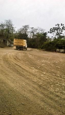 Camion subiendo al cerro, Guadalupe del Cobre