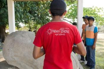 Como parte de las actividades del seminario, se visitó el sitio olmeca de San Lorenzo.