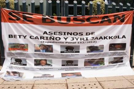 Justicia para nuestros muertos: desde la huelga de hambre por Bety Cariño y Jyri Jaakkola