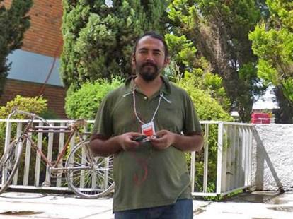 Juan Carlos Flores, vocero Frente de Pueblos en Defensa de la Tierra y el Agua Morelos – Puebla –Tlaxcala (FPDTAMPT), preso en el Cereso de Cholula.