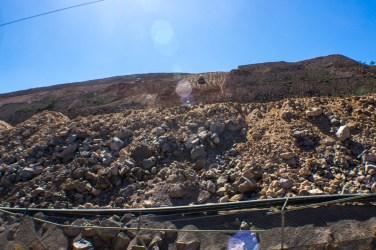 640 millones de metros cúbicos de materia de cianuro serán residuos cubriendo la superficie de 178 hectáreas las cuales no permitirán ningún tipo de actividad productiva para las generaciones futuras