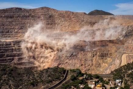 Destrucción a cielo abierto en San Luis Potosí