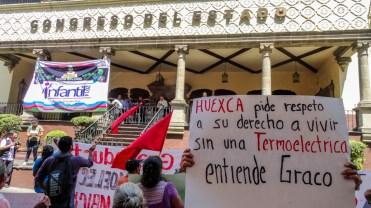 El gasoducto transportará 9 mil 61 millones de litros de gas metano al día. Aunque pobladores detuvieron su construcción en 2012, en meses recientes se reactivaron los trabajos; ante ello pobladores resisten pese a la respuesta represiva por parte de las autoridades ¡Zapata vive, la lucha sigue!