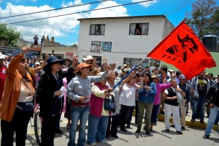 En Atenco no hay derrota: «Nadie nos puede obligar a aceptar este fraude»