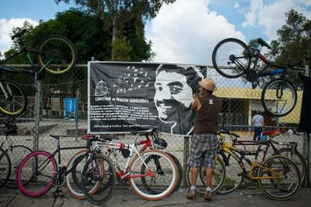 Rodando en solidaridad con los presos anarquistas en México