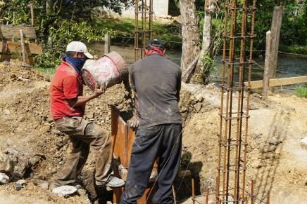 Reconstrucción en la selva