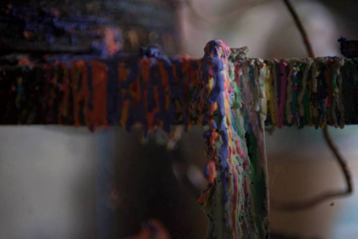 Las obleas se producen con una plancha eléctrica.