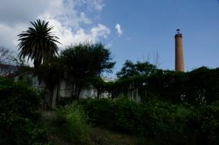 El chachuaco. Fábrica textil fundada en 1896, que le dio origen al municipio.