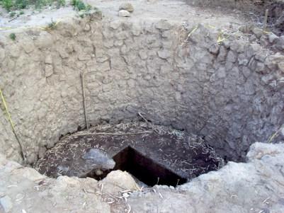 03 En la zona un horno de cal con un diametro ..., según arqueológos especializados el más grande de mesoamérica descubierto hasta ho_