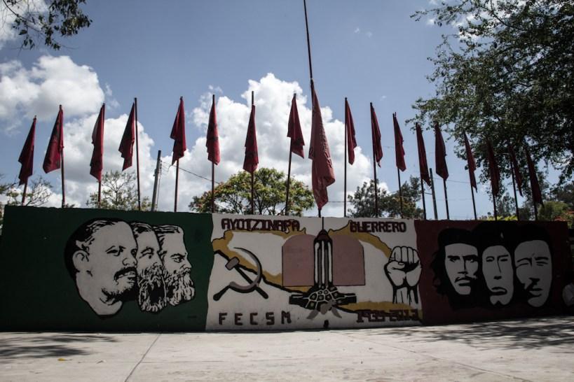 Escuela Normal de Ayotzinapa. Fotografía: Heriberto Paredes