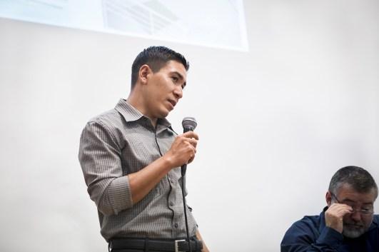 Yoni Salgado Valdez, integrante del colectivo Los Otros Dreamers
