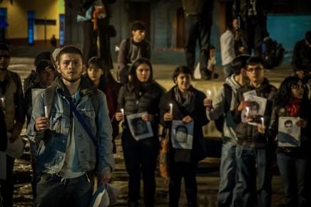 Al igual que el reclamo, la solidaridad internacional también continúa