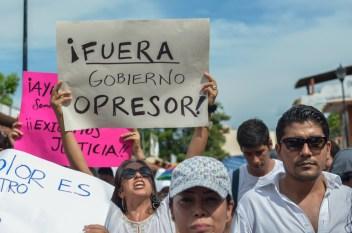 ¡Fuera Gobierno Opresor!