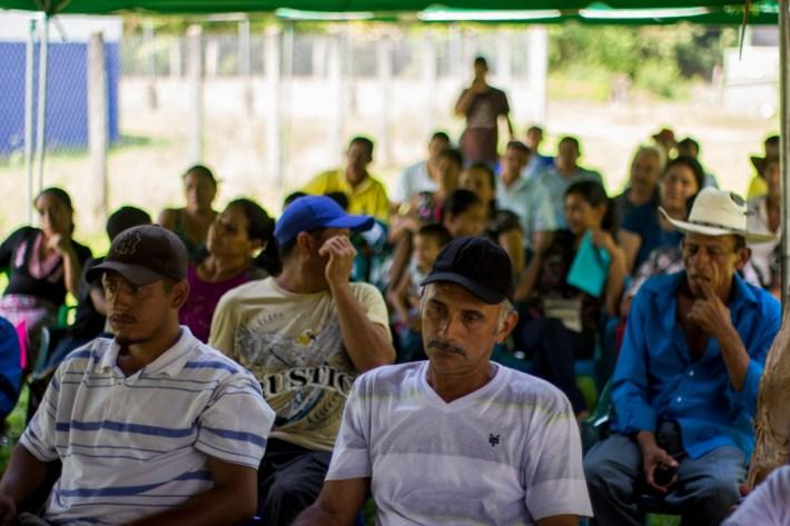 Asambleas constitutivas de la Asociación de Comunidades del Manglar por la Defensa del Territorio en la Bahía de Jiquilisco.