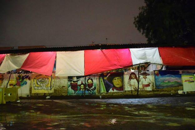 El muro de los espejos. Foto: Gisela Delgadillo
