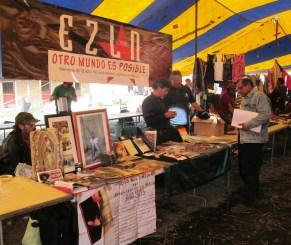 Materiales para conocer a fondo la lucha zapatista. Foto: Canek