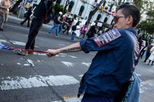 «Estamos en resistencia» Fotografía: Colectivo1DMX