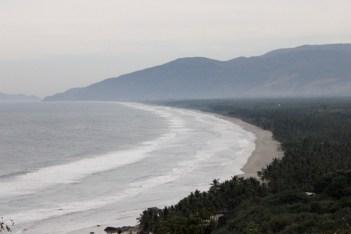 Vista de Xayacalan, tierras recuperadas por la comunidad de Ostula en 2009. Fotografía Rafael Camacho