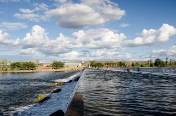 Sistema de irrigación. Fotografía: Ingrid Fadnes