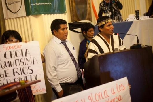 Justicia para el pueblo Asháninka. Foto: Juliana Bittencourt