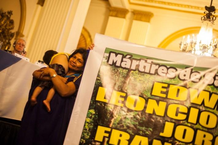Hasta ahora el gobierno de Humala no cumple con la investigación de los asesinatos ni con la protección de los dirigentes y familias. Foto: Juliana Bittencourt