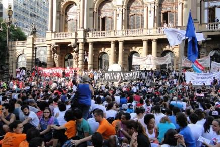 Brutal represión a la lucha contra la tarifa cero en Brasil