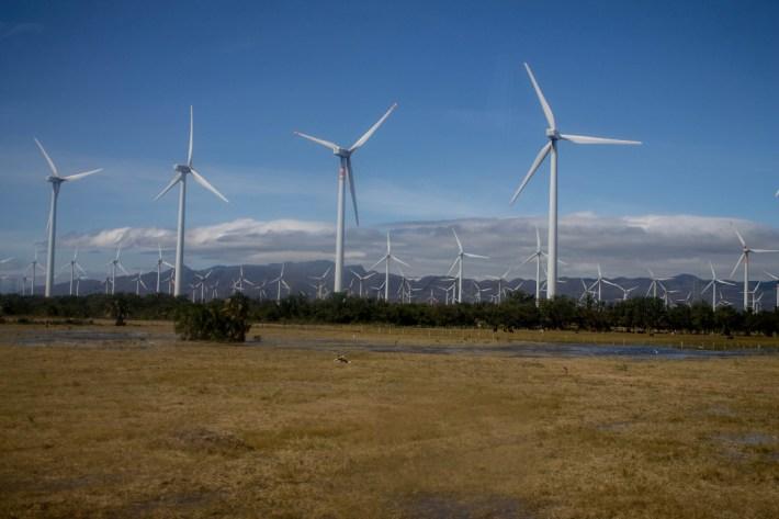 Parque eólico Santo Domingo, Istmo de Tehuantepec, Oaxaca