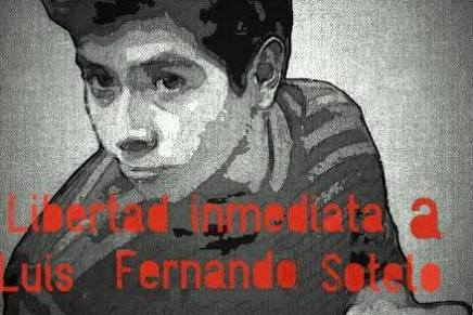 Solidaridad con Luis Fernando Sotelo