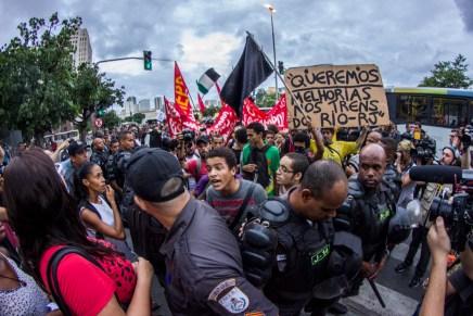 El lenguaje del miedo ante la protesta en Brasil