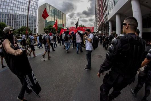 Pese a la intransigencia de la policía, as demandas contra la c