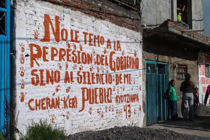 Cherán Ayotzi represión1