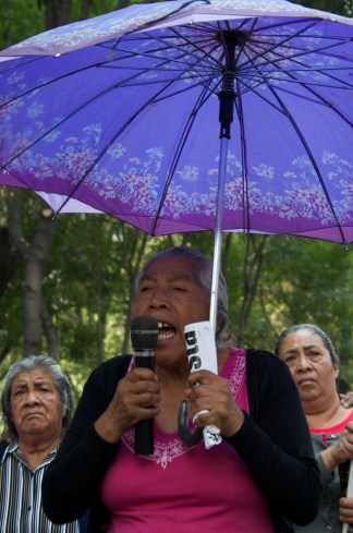 Las familias han encabezado al lucha por la liberación de los presos políticos de San Bartolo Ameyalco