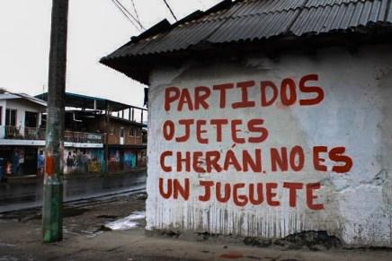 Contra el poder y sin partidos, Cherán defiende su autonomía