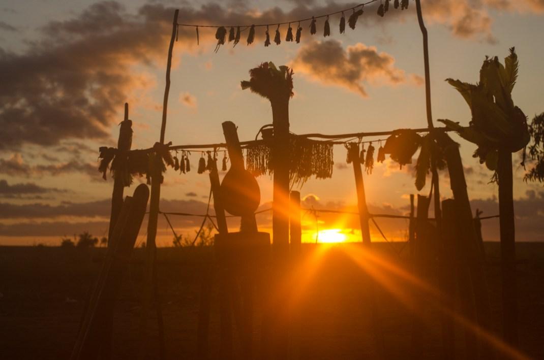 La tierra sagrada de los Kaiowá - Taquara. Por Ingrid Fadnes
