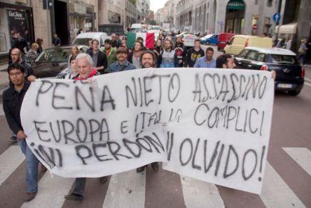 Ayotzinapa en Milán: tejer desde abajo para que la lucha siga y crezca