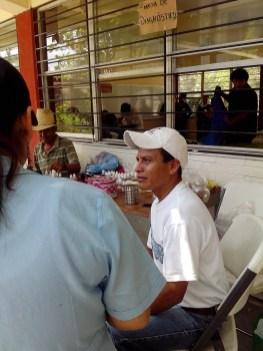El señor Emiliano Navarrete, padre de José Ángel Navarrete, durante su entrevista clínica