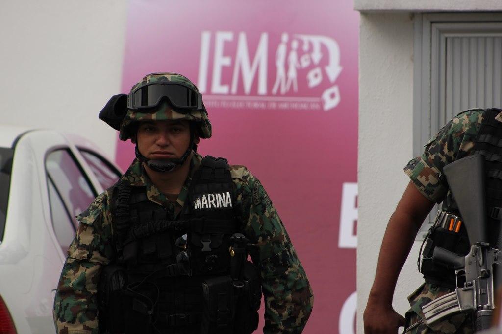 Instituto Electoral de Michoacán. Por Rodrigo Caballero.