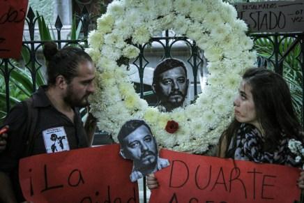 Rubén Espinosa: fotogramas de un crimen