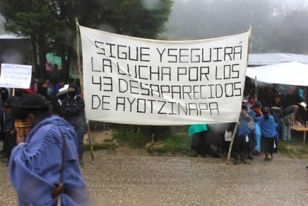 Ayotzi resuena. Solidaridad desde México y el mundo