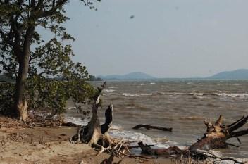 La Laguna Superior, un territorio que se vería fuertemente afectado por los proyectos eólico de Eólica del Sur. Fotografía: La Pirata