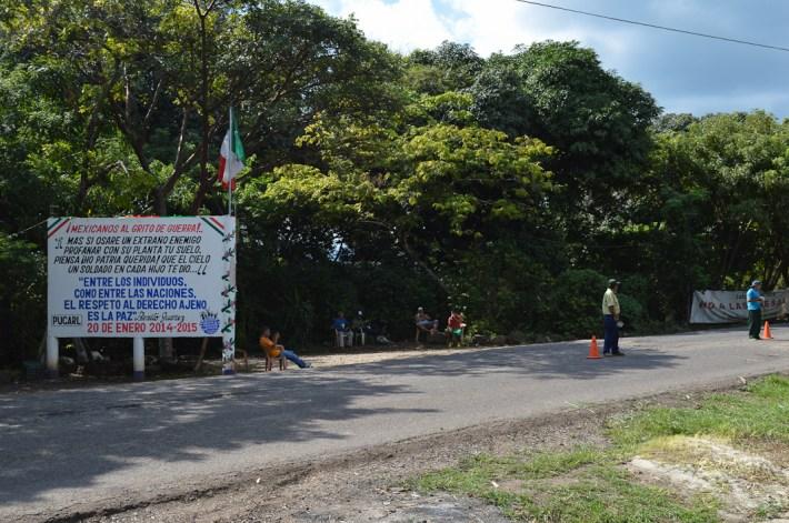 El campamento impide desde hace dos años la entrada de Odebrecht
