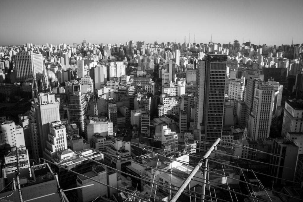 Centro de Sâo Paulo. Fotografía: Heriberto Paredes