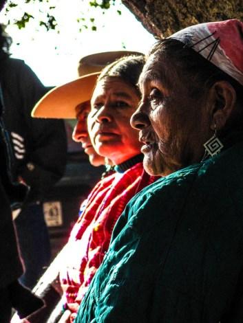 Encuentro de los Pueblos Indígenas de América, celebrado en Vicam, Sonora en 2007. Fotografía: José Luis Santillán