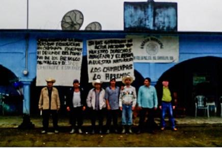 San Francisco la Paz Chimalapas exige paz, libertad y justicia