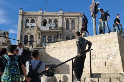 ¿Qué le queda a la juventud palestina sino resistir?