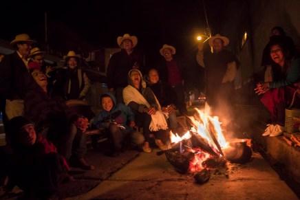 Comuneros y comuneras de Cherán dicen no al mando único